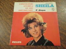 45 tours sheila 4e disque le sifflet des copains