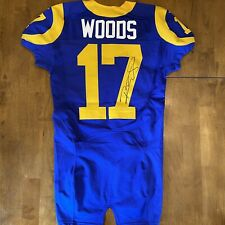 Robert Woods Signed Autographed Game / Team Issued Rams Jersey 2014