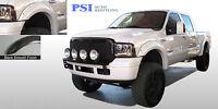 Black Paintable Pocket Rivet Fender Flares 99-07 Ford F-250, F-350 Super Duty