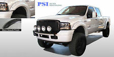 BLACK PAINTABLE Pocket Rivet Fender Flares 99-07 Ford F-250, F-350 Super Duty