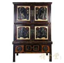 Chinese Antique Carved Zhejiang Armoire 11LP06