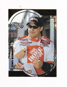 2001 Trackside GOLDEN NUMBERED PARALLEL #G15 Tony Stewart #27/50! SWEET/SCARCE