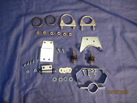 MGB  EXHAUST FITTING KIT o rings .middle ,rear 1970-1974 CHROME BUMPER