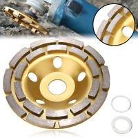 "5"" Diamond Segment Grinding Wheel Cup Disc Grinder Concrete Granite Stone Cut"