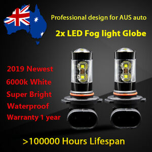 For Volkswagen Passat 2006-2010 Fog Light Globes 6000k White CREE LED Bulbs kits