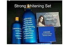 Exclusive Lait Gluthatione Lotion, Serum, face cream & Soap  4pcs Set
