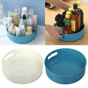 2 PCS Multi-Function Rotating Tray/Kitchen Organizer/Cosmetics Organize
