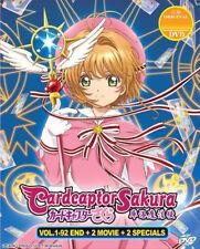 Cardcaptor Sakura Dvd Complete 1-92 +2 Movie +2 Spec -Eng Dub- Usseller ShipFast