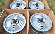 "GENUINE SAAB INCA wheels 8939662 5,5x15"" 4x114,3 for 99 Turbo / 900 Aero as NEW"