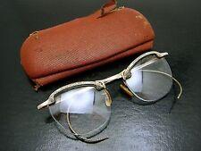 Vintage Gold Filled Art Deco Retro Ornate Frame Womens Cat Eye Eyeglasses