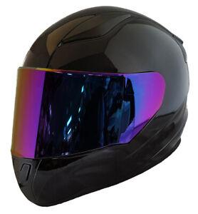 Helmet Visor / Chromatic Purple / Shades Visor Film Insert / Made UK
