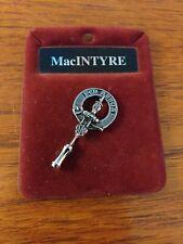 More details for mcintyre pewter clan pin badge vintage