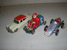 Schuco Micro Racer Mercedes 1038 , Rennwagen 1043 , Go Kart 1035 der 1960erJahre
