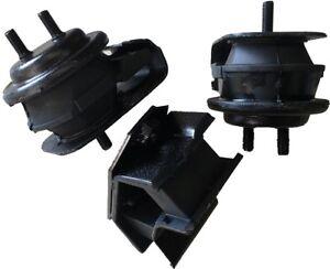 9PP142 3pc Motor Mounts fit 4x4 RWD 2.5L 2001 - 2004 Chevy Tracker A/T M/T Trans