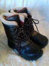 Arizona childrens snow/weather  Boots.  size 2 M.  Brown/Black.