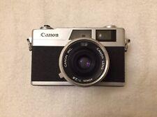 [EXCELLENT] Canon Canonet 28 35mm Rangefinder Film Camera New Light Seals