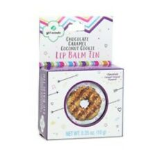 Girl Scout Cookie Lip Balm Chocolate Caramel Coconut Flavor Ammonia Free .35 oz
