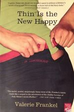 🎉 Thin Is the New Happy Valerie Frankel Book Exercise Diet Weight Chick-Lit 👖