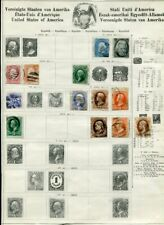 USA 1861-1930 Used COLLECTION on pages 200 Stamps