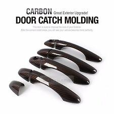 Carbon Brown Door Catch Molding Garnish Cover Trim 9P for KIA 2015-2017 Sorento