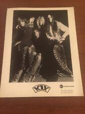 KIX Hard Rock Group Rare 8 x 10 PRESS PHOTO - CMC International