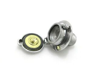 """Monza cap 2.5"""" + Adapter for Vintage BMW R100 RT RS R90 R80 Fuel"""