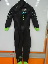 Zone3 Mens Azure Wetsuit - Wiggle Exclusive ML BLACK/NEON GREEN $