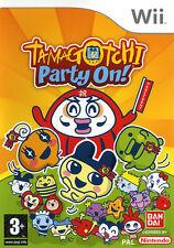 Jeu Wii Tamagotchi Party On !  NEUF Sous Blister