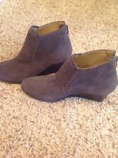Womens Jack Rogers grey wedges size 6 1/2 M
