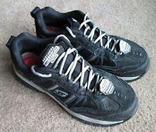 Sketchers Work Composite Toe Sneakers Shoes Memory Slip Resistant 9.5 Mens Steel