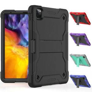 Shockproof Case for iPad Pro 11 inch 2020/2021 Hybrid Armor Rugged Stand Cover