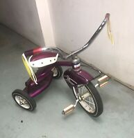 60's-70's Vintage Murray Troxel Tricycle Double Step Ball Bearing Rideable!