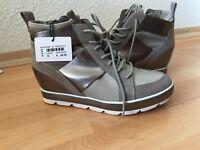 Tamaris Boots Damenschuhe in Grau, Gr.39 Neu
