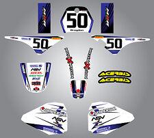 Full  Custom Graphic  Kit - STORM - Yamaha pw pee wee  80