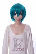 W-10-F7 grün green 33cm COSPLAY Perücke WIG Perruque Haare Hair Anime Manga