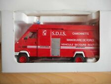 Eligor Renault B120 SDIS Pompiers in Red on 1:43 in Box