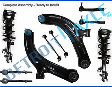 for 07-2012 Nissan Cube Versa Front Strut Lower Control Arm Tierod Sway Bar Kit
