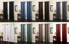2 Panels Lined Heavy Thick Blackout Grommet Window Curtain Drape Treatment K86