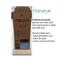 Gamuza microfibra Anti-vaho NOVAX