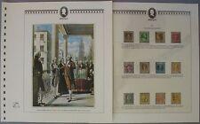 s577) George Washington ** Abo-Sammlung 70 V-Blätter in 2 Ringbindern
