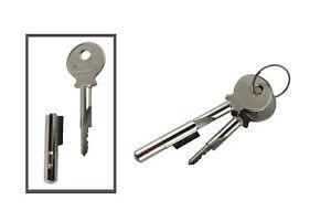 1 Stk. Schlüsselloch-Sperrer mit 2 Schlüsseln - Nr. 021