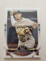Manny Machado 2021 Topps Tribute Baseball  Card #11 San Diego Padres
