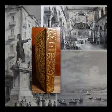 NAPOLI e i Luoghi Celebri delle sue Vicinanze 1845 15 Litografie Zezon + Pianta