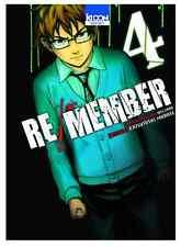 manga Re/Member Tome 4 Seinen MURASE Katsutoshi Welzard Ki-Oon ! horreur カラダ探し