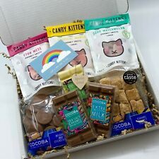 Gourmet Sweet Treats Gift Box with choice of mini wooden sign
