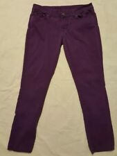 Rue 21 Juniors Purple Low-rise Skinny Jeggins Size 7 / 8 (B18)