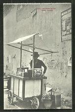 Kuala Lumpur Ice Water Seller Malaya Malaysia ca 1910