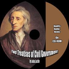 Two Treatises of Civil Government, John Locke, 1 MP3 CD