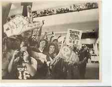San Francisco 49ers Football Fans Airport Rally United Airlines 1981 Media Photo