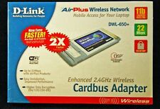 D-Link AirPlus DWL-650+ Enhanced 2.4 GHz Wireless Cardbus Adapter for laptops